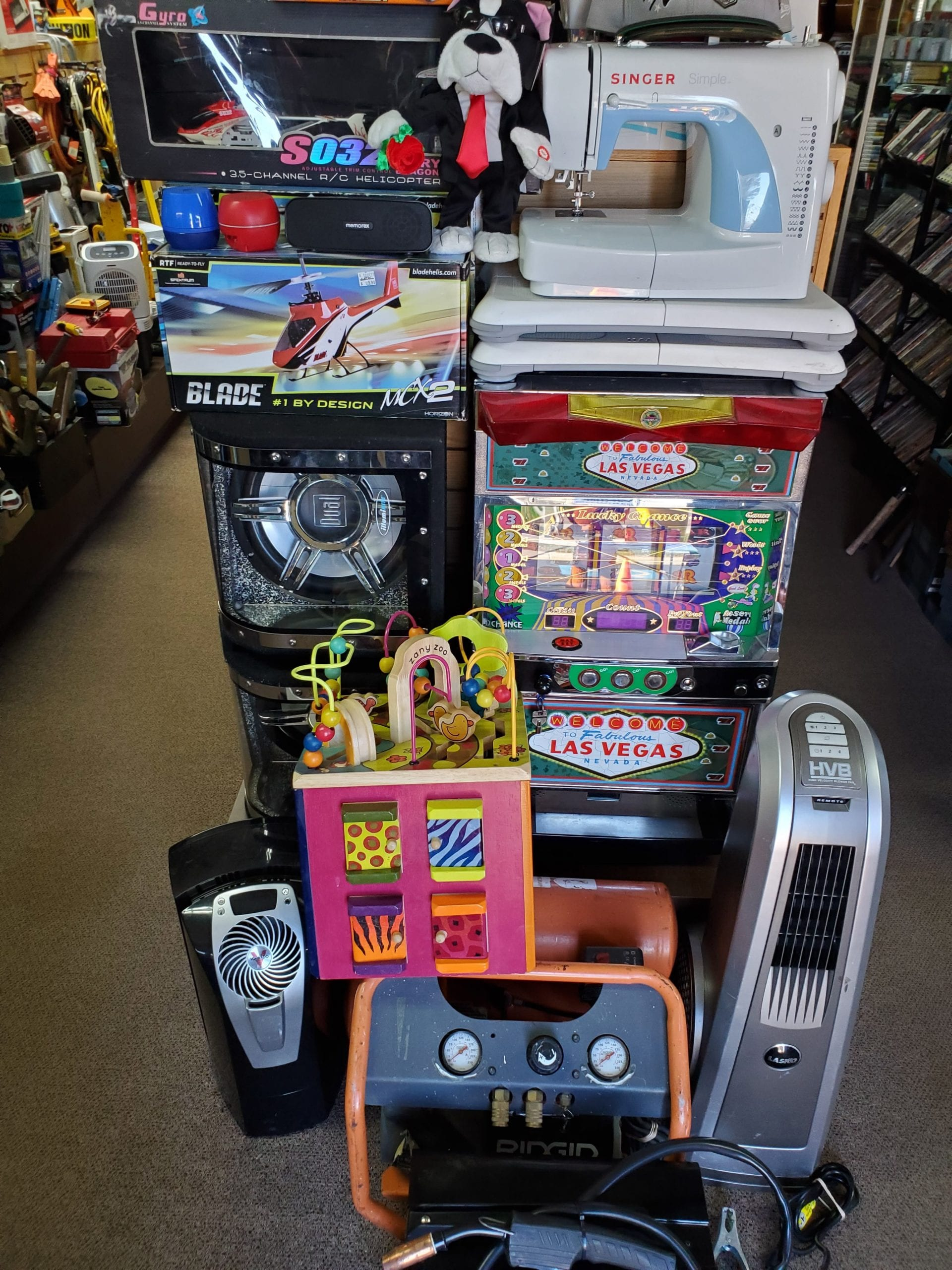 Slot-Machine-Air-Compressor-Subwoofer-Pawn-Roundlakebeach-Traderjons
