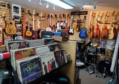 Guitars and Records