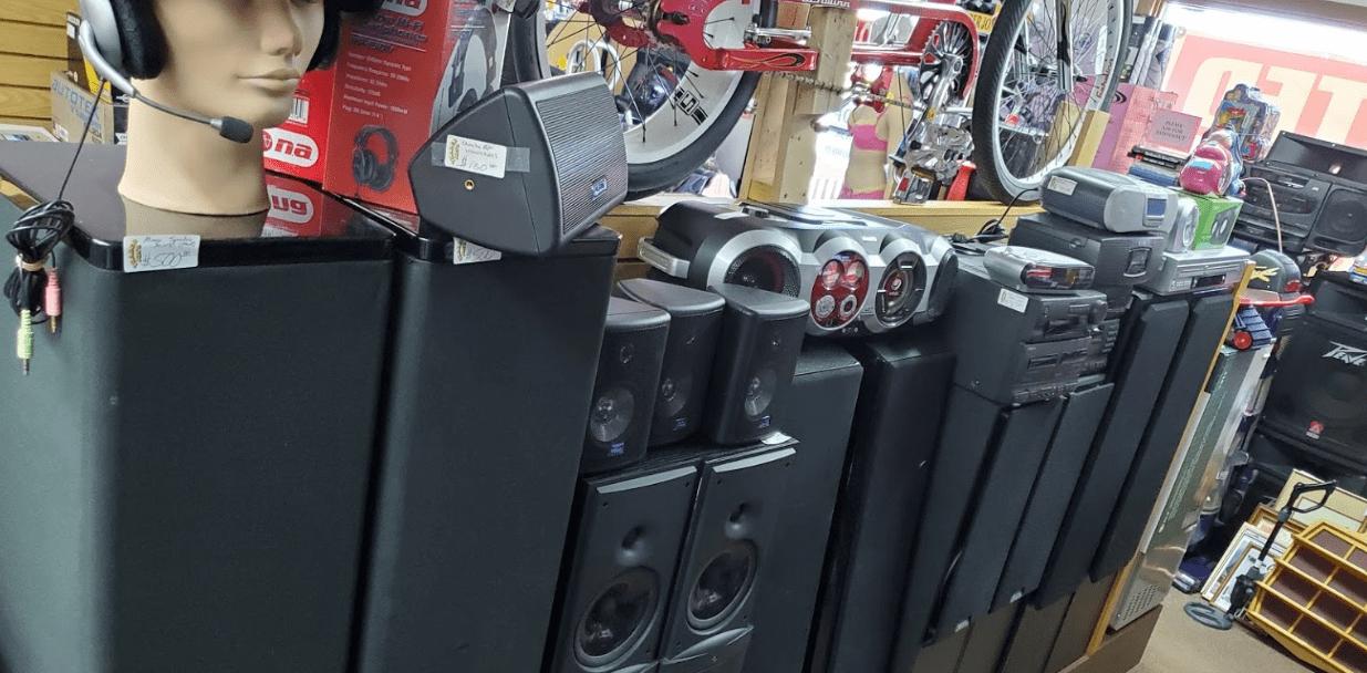 Speakers-Il-Resale-Pawn-Bikes-DJ-Speakers