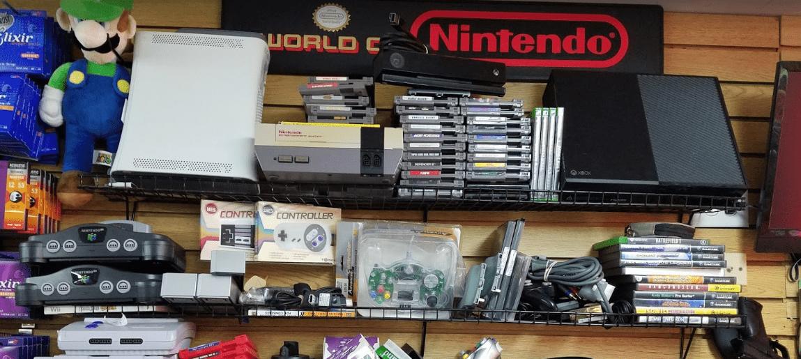 Xbox-NES-Nintendo-N64-Wii-Gamecube-Retro-Resale-Pawn